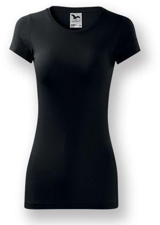 LORETANO dámské tričko, 180 g/m2, ADLER, černá