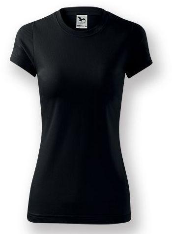 NEONY LADY dámské tričko, 150 g/m2, ADLER, černá