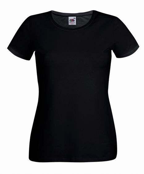 Dámské tričko Lady-Fit Crew Neck T