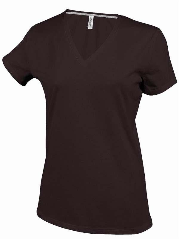 Dámské tričko kr.rukáv V-neck