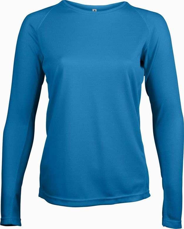 Dámské sportovní tričko dlouhý rukáv