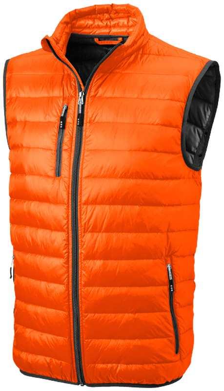 Fairview lehká oranžová péřová vesta