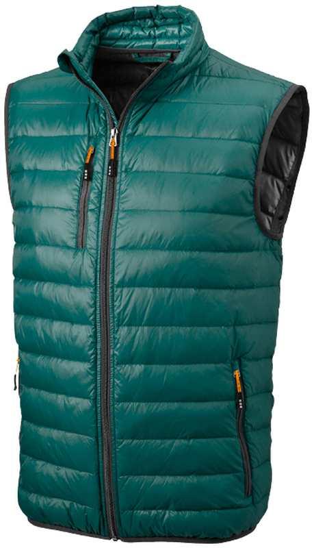 Fairview lehká tmavě zelená péřová vesta