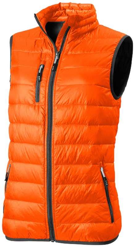 Fairview dámská lehká oranžová péřová vesta