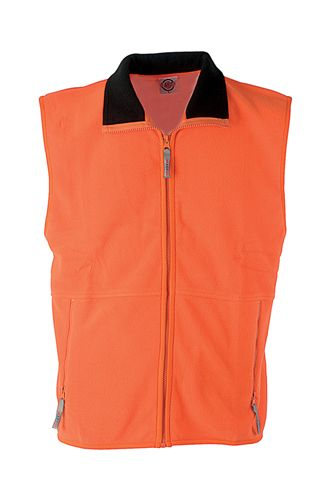 Forest vesta fleece - 260 g oranžová