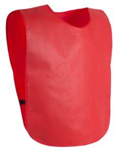 Cambex červená sportovní vesta s potiskem