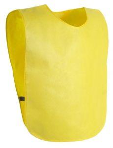 Cambex žlutá sportovní vesta s potiskem