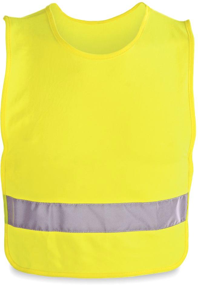 Reflexní vesta pro děti žlutá