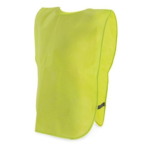 Netkaná vesta žlutá