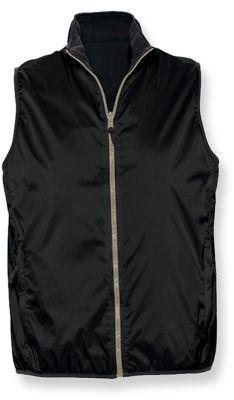 WINNER unisex vesta, 210T, SOLS, černá