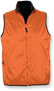 WINNER unisex vesta, 210T, SOLS, oranžová