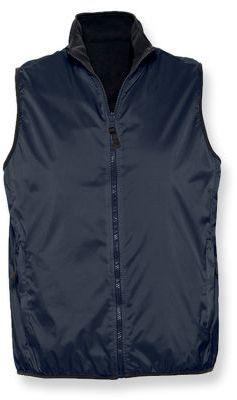 WINNER unisex vesta, 210T, SOLS, tmavě modrá
