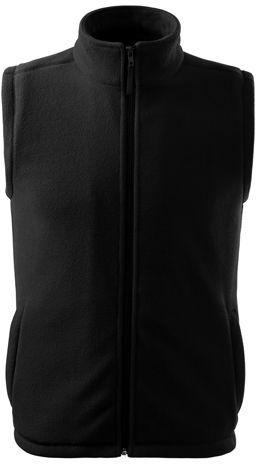 NEXT unisex fleecová vesta, 280 g/m2, ADLER, černá