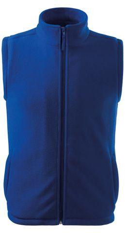 NEXT unisex fleecová vesta, 280 g/m2, ADLER, modrá