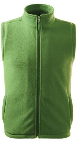 NEXT unisex fleecová vesta, 280 g/m2, ADLER, světle zelená