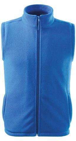 NEXT unisex fleecová vesta, 280 g/m2, ADLER, azurově modrá