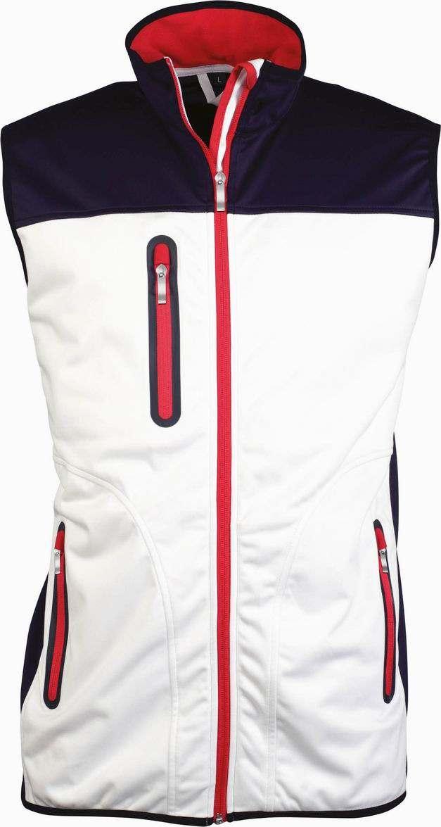 Pánská softshellová vesta Tri-color