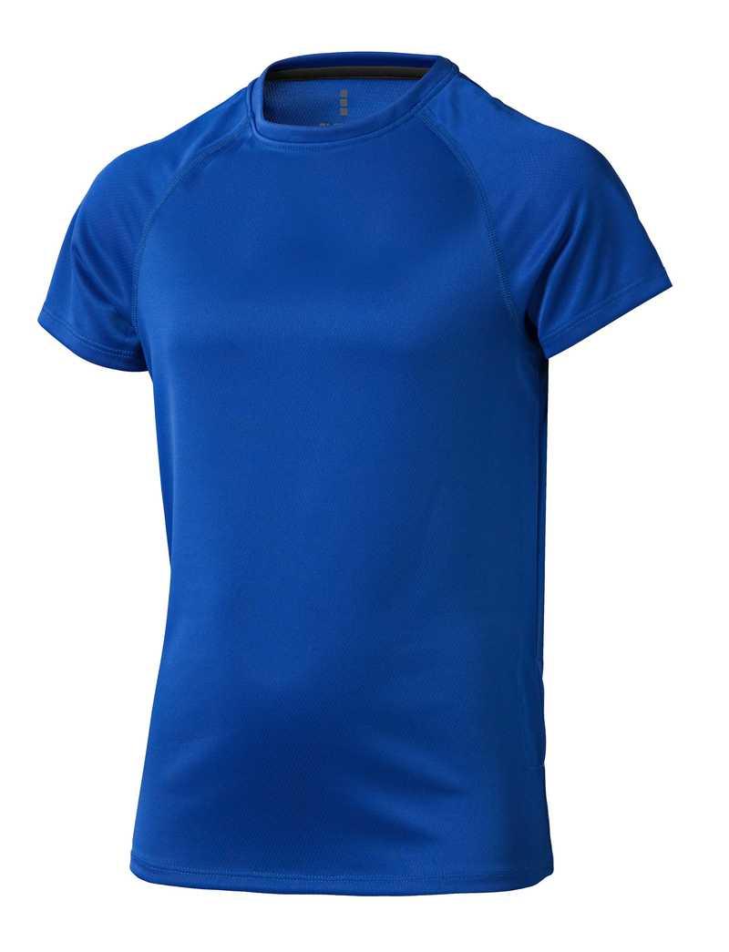 Niagara CoolFit dětské triko modré s potiskem