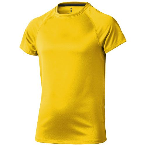 Niagara CoolFit dětské triko žluté