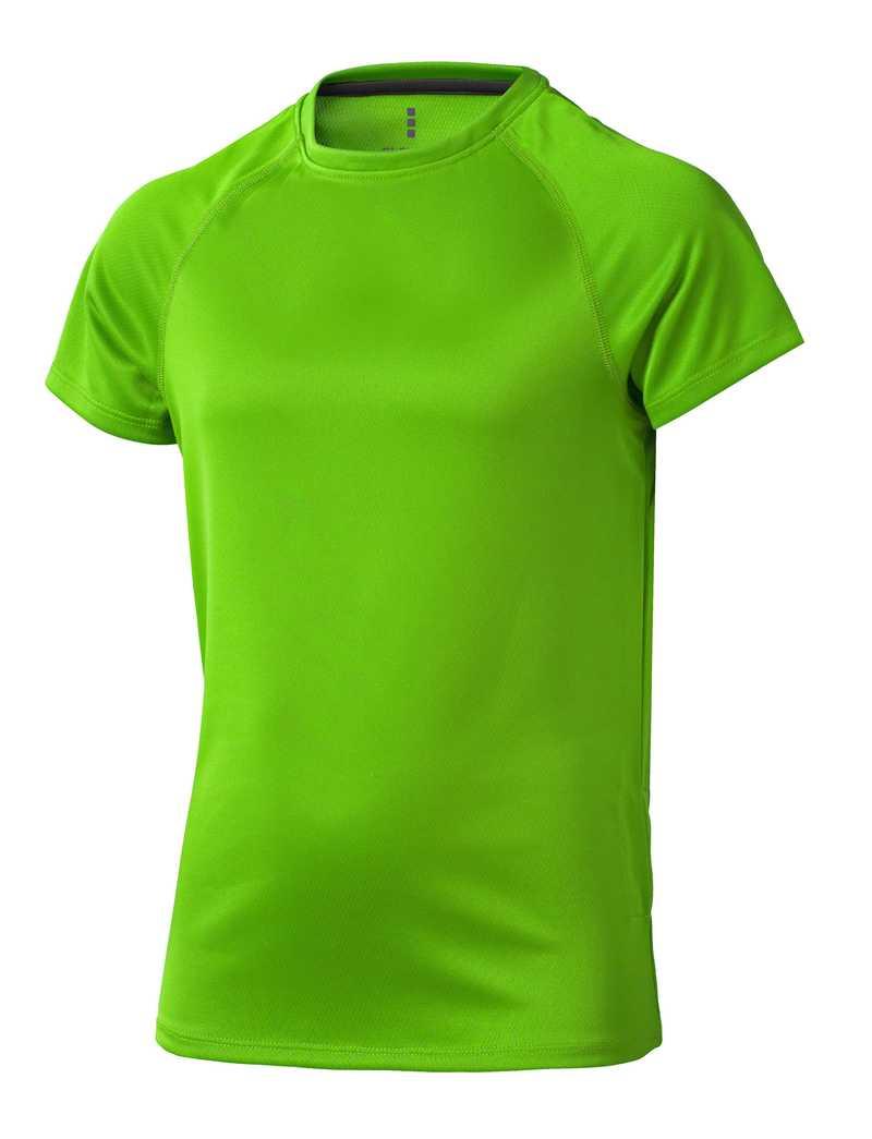 Niagara CoolFit dětské triko zelené s potiskem