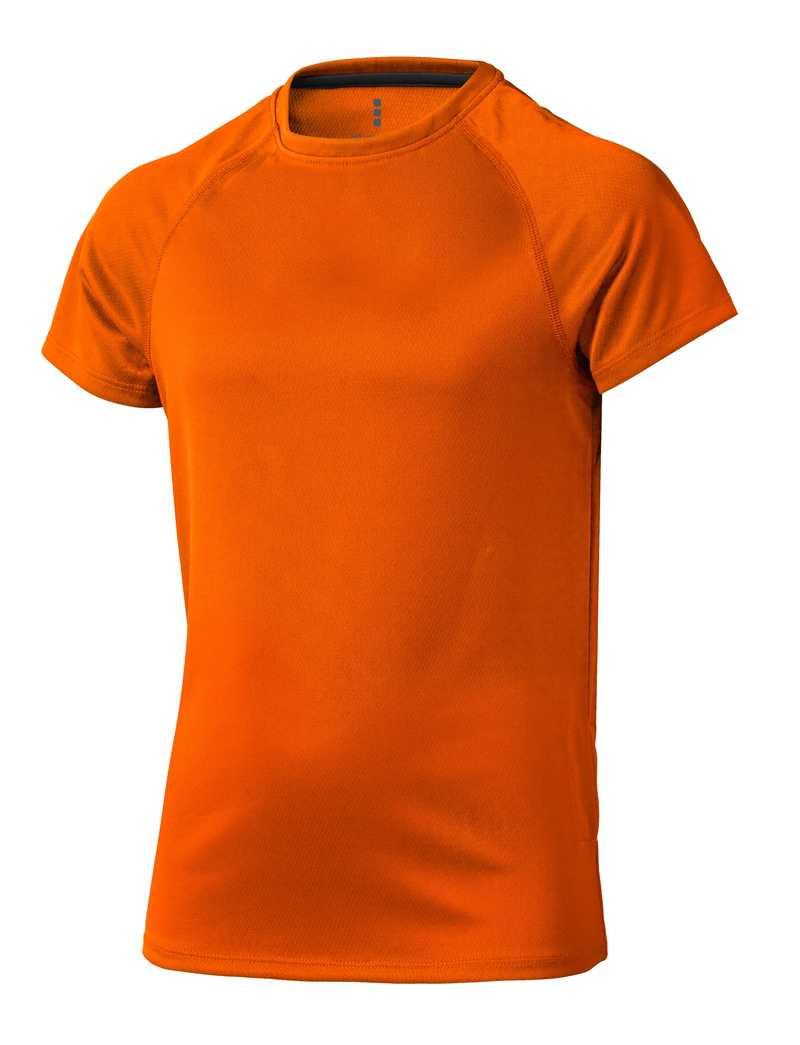 Niagara CoolFit dětské triko oranžové