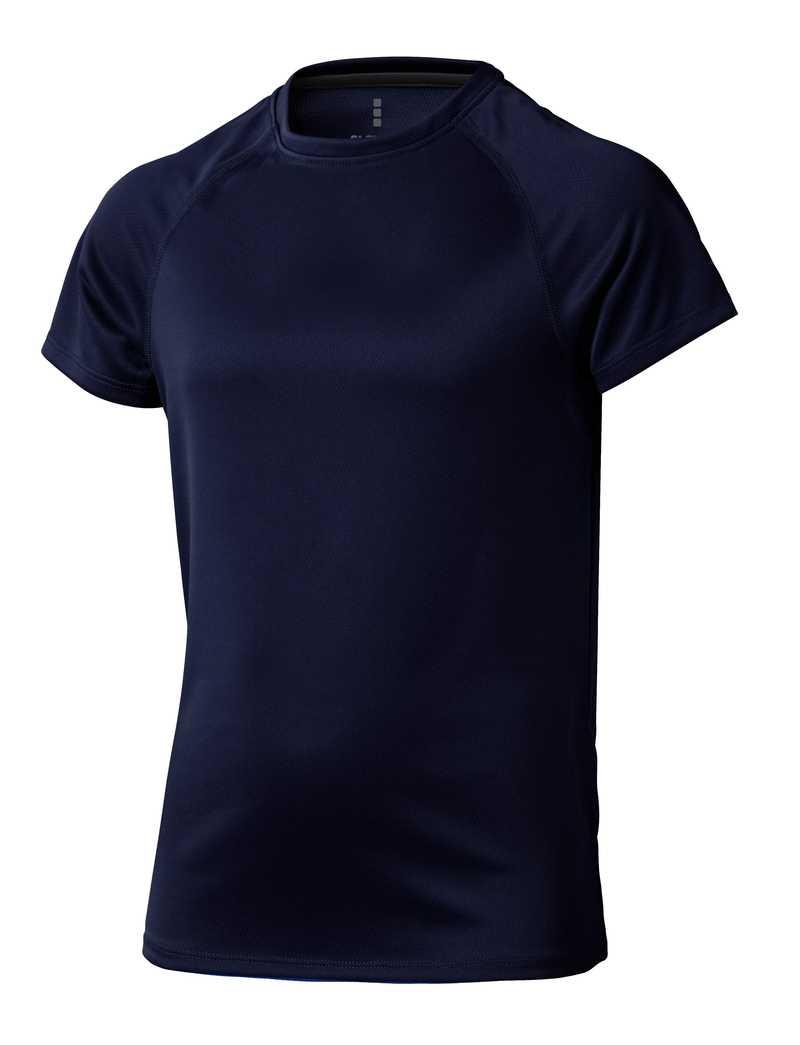 Niagara CoolFit dětské triko tmavě modré