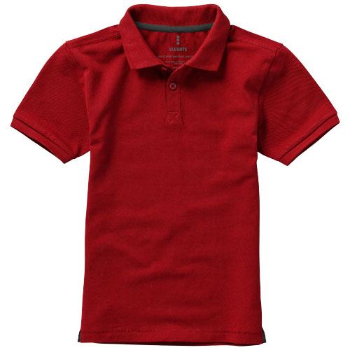 Calgary dětská polokošile červená