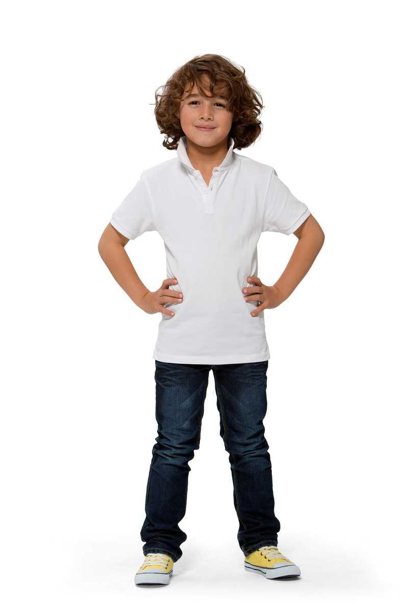 Calgary dětská polokošile bílá