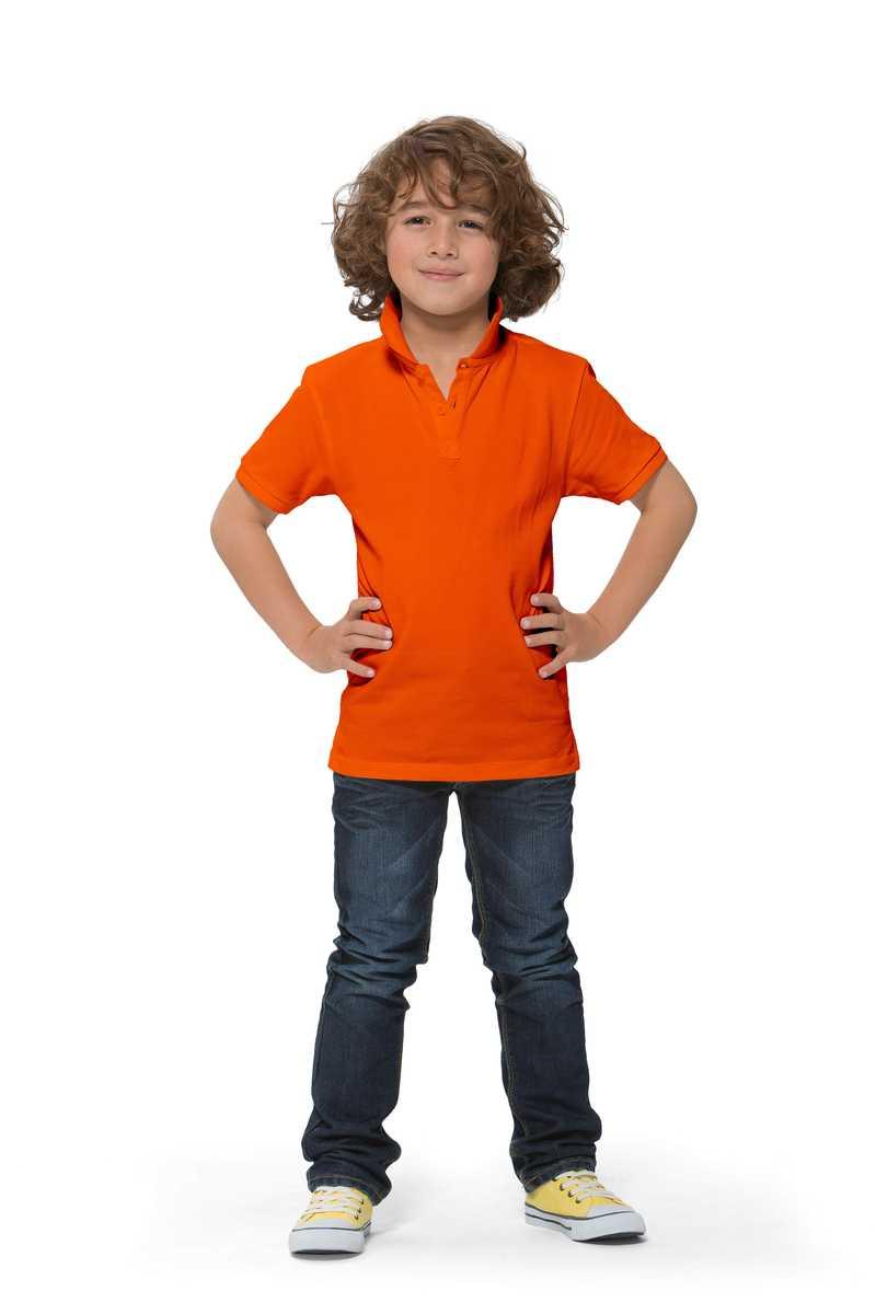 Calgary dětská polokošile oranžová