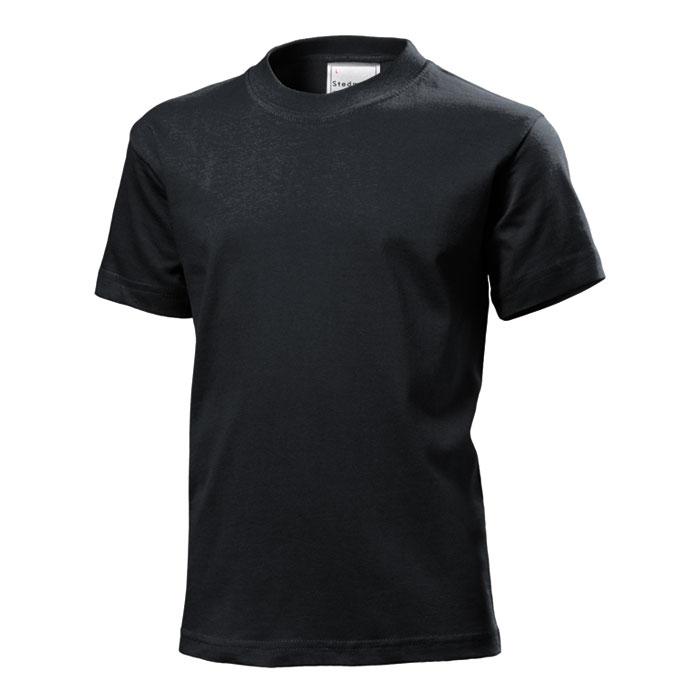 Junior tričko Stedman 185 černé
