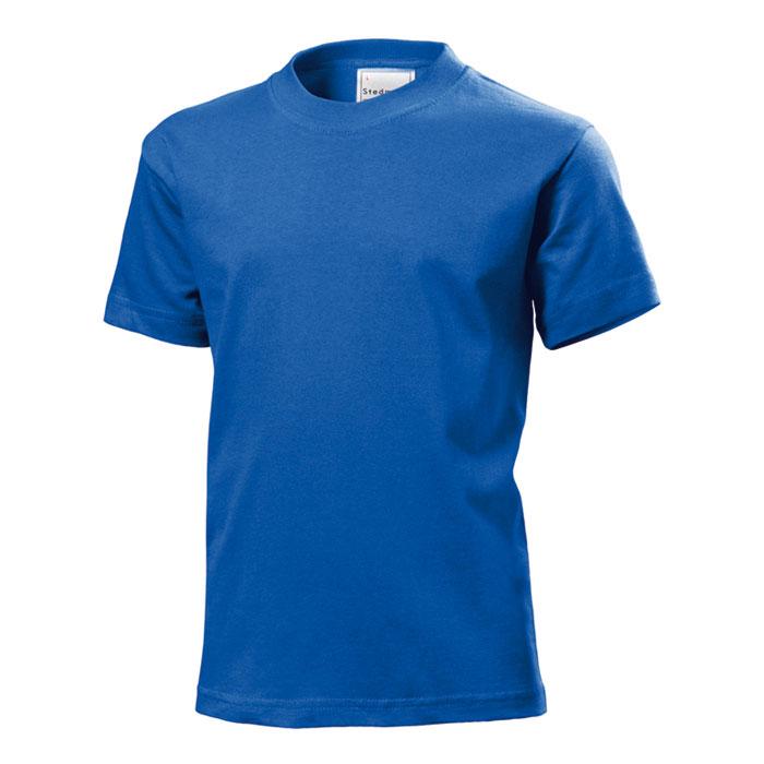 Junior tričko Stedman 185 modré