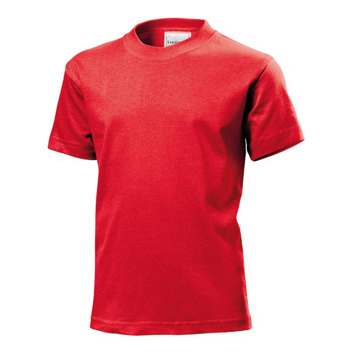 Junior tričko Stedman 185 červené