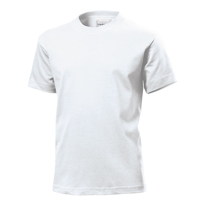 Junior tričko Stedman 185 bílé