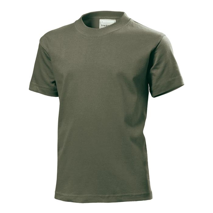 Junior tričko Stedman 185 khaki s potiskem