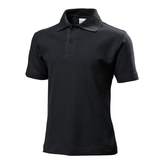 Junior polo Stedman 170 černé