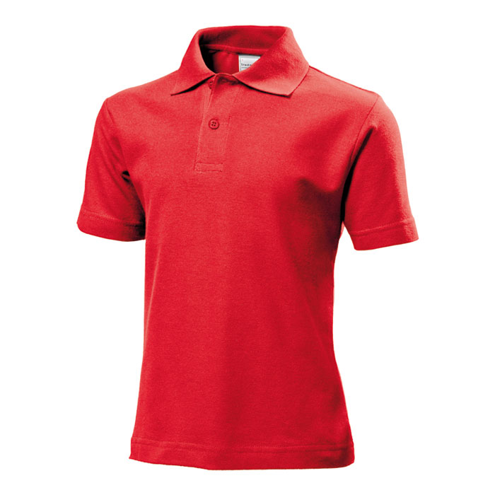 Junior polo Stedman 170 červené
