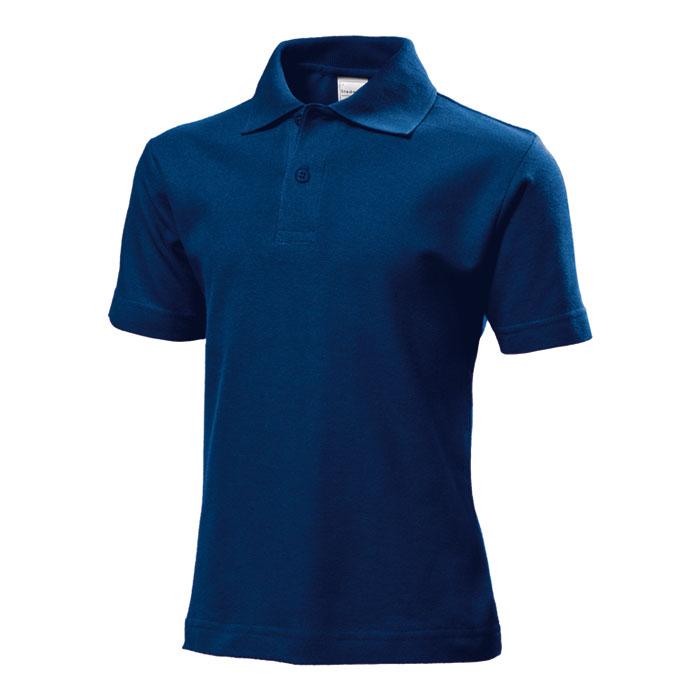 Junior polo Stedman 170 tmavě modré