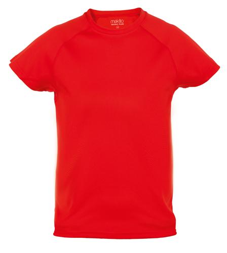 Tecnic Plus K červené tričko, pracovní oděv pro děti