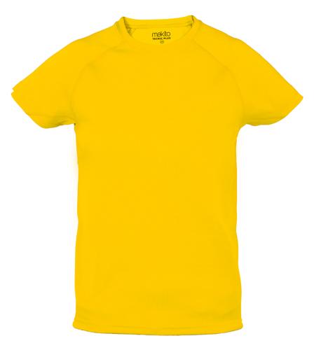 Tecnic Plus K žluté tričko, pracovní oděv pro děti