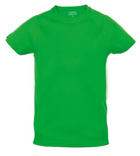 Tecnic Plus K zelené tričko, pracovní oděv pro děti