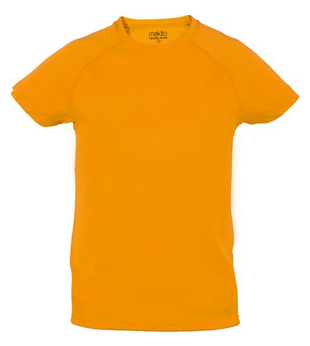 Tecnic Plus K oranžové tričko, pracovní oděv pro děti