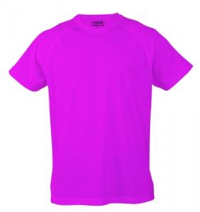 Tecnic Plus K růžové tričko, pracovní oděv pro děti s potiskem