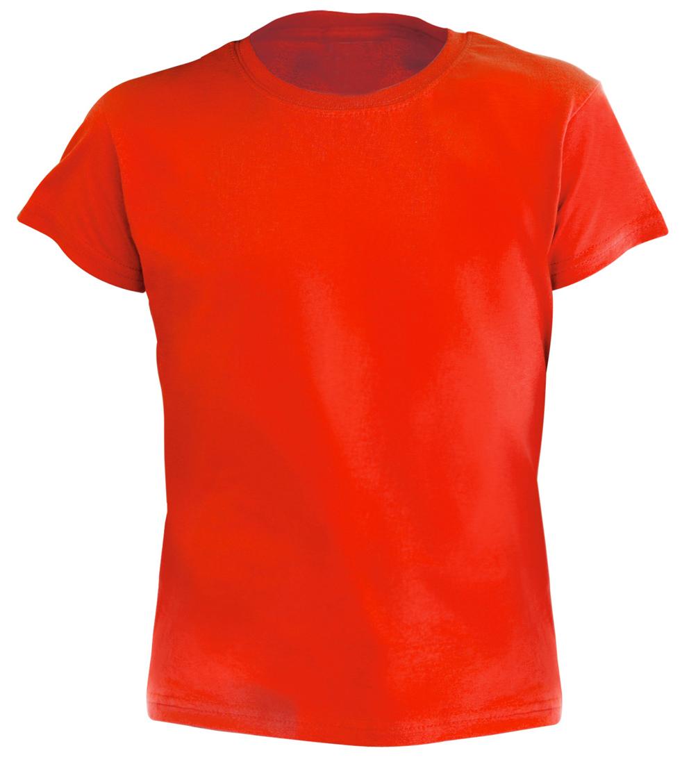 Hecom červené dětské tričko