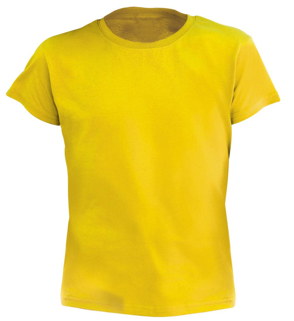 Hecom žluté dětské tričko