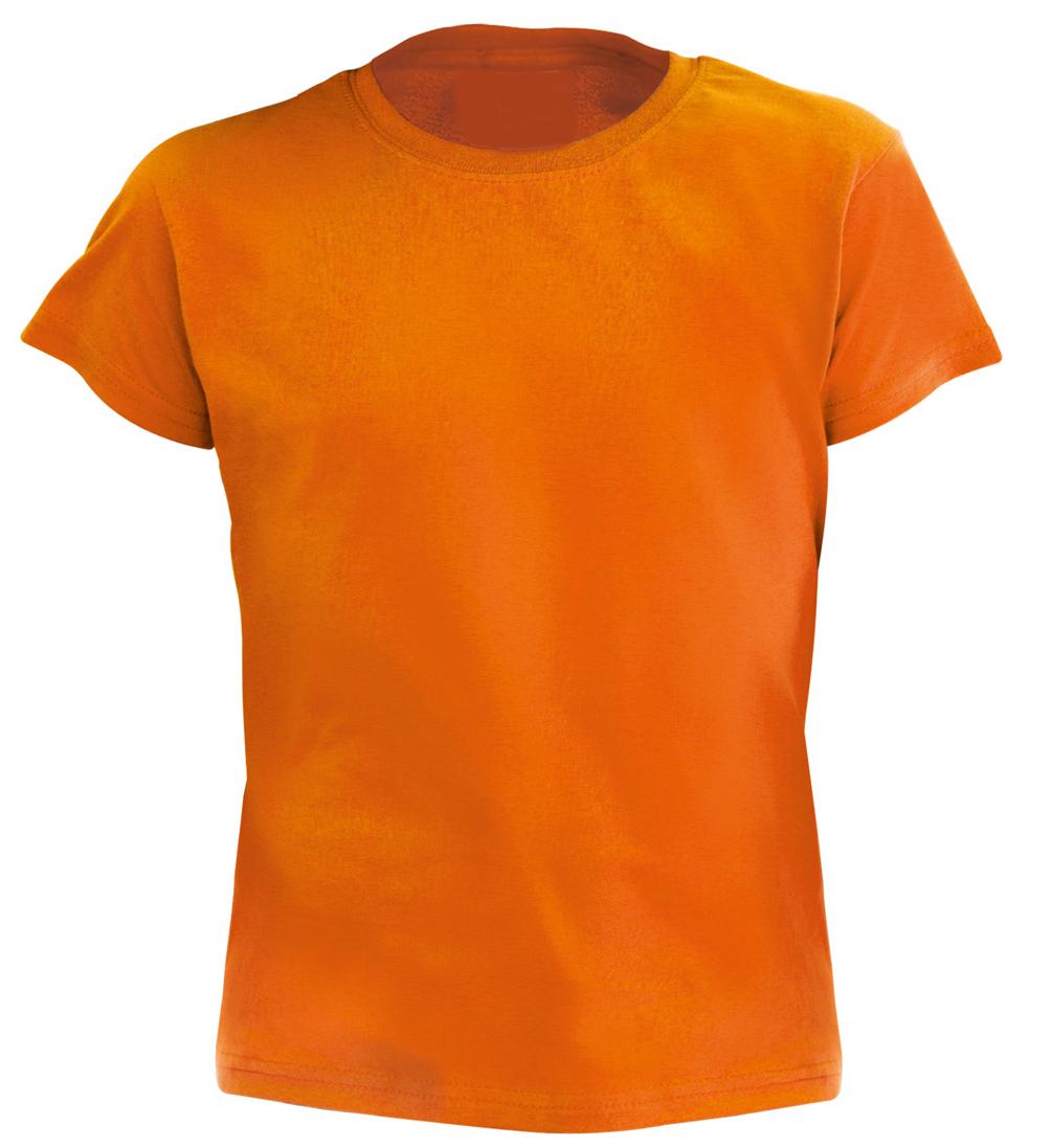 Hecom oranžové dětské tričko