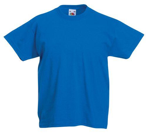 Valueweight modré dětské tričko