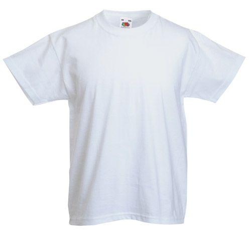 Valueweight bílé dětské tričko