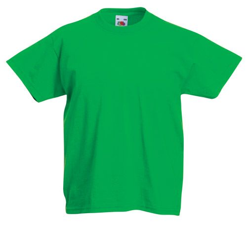 Valueweight zelené dětské tričko