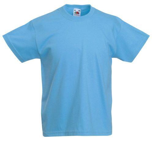 Valueweight světle modré dětské tričko