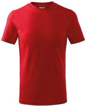 SMALLER dětské tričko, 160 g/m2, ADLER, červená